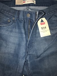 Levis 514 Straight Regular fit mens new jeans size 16 husky 34x28#8 Shirley, 11967