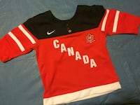 red, black, and white Canada jersey shirt Edmonton, T5E 5N2
