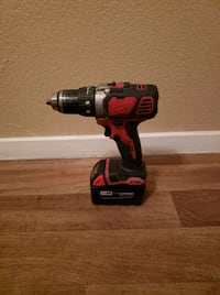 Milwaukee M18 red lithium drill and battery Las Vegas, 89121