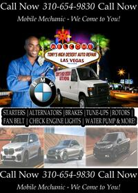 Mobile Mechanic Henderson Las Vegas
