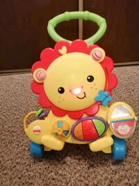 Fisher Price musical lion activity walker