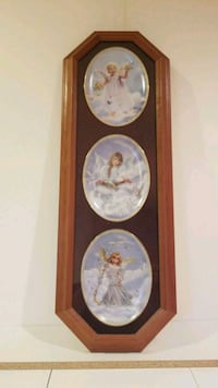 Framed angel plates for hanging  Richmond Hill, L4B 2R9