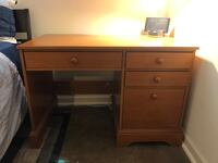 Solid Wood Desk - 4 Drawers Baltimore, 21224