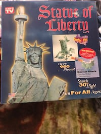 3-D puzzle. Statue of Liberty. New! Make offer! Amazon price $35