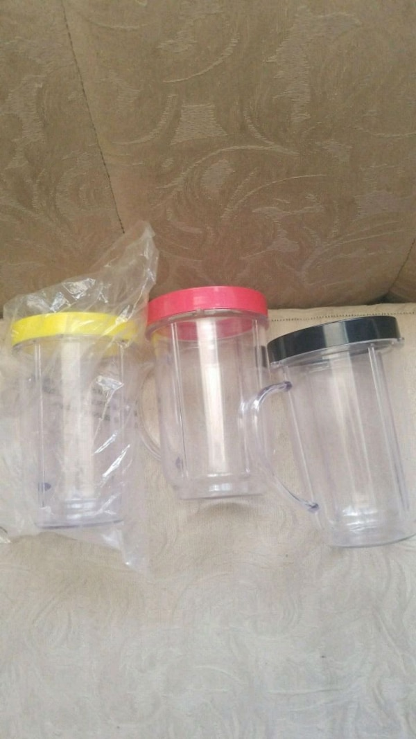 Magic bullet mugs