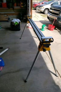 Dewalt work stand for mitre saw.