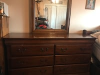 brown wooden dresser with mirror South Gate, 90280