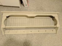Antique cream display shelf with pegs Smithtown, 11787