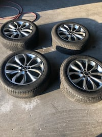 235 50 18 winter tires on Ford/Lincoln alloy rims Toronto, M9M