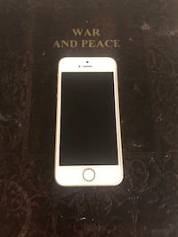 gold iPhone 5s with black case Toronto, M1L 4K8