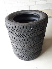 Four barely used goodyear winter tires size 15in Richmond Hill, L3T 7W8