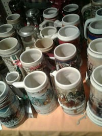 white ceramic beer stein lot Kearneysville, 25430
