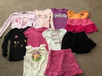 Girls 5t assorted clothes lot