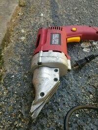 red and black Black & Decker corded power tool Houston, 77074