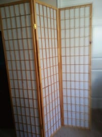 white and brown wooden room divider Springfield