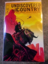 Undiscovered Country #1 1st print 25 copy variant