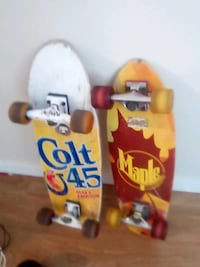skateboard decks,wheels and trucks included.. (price negotiable.) Edmonton, T5P 1X9