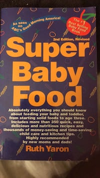 Super Baby Food by Ruth Yaron 2nd Edition  Midland Park