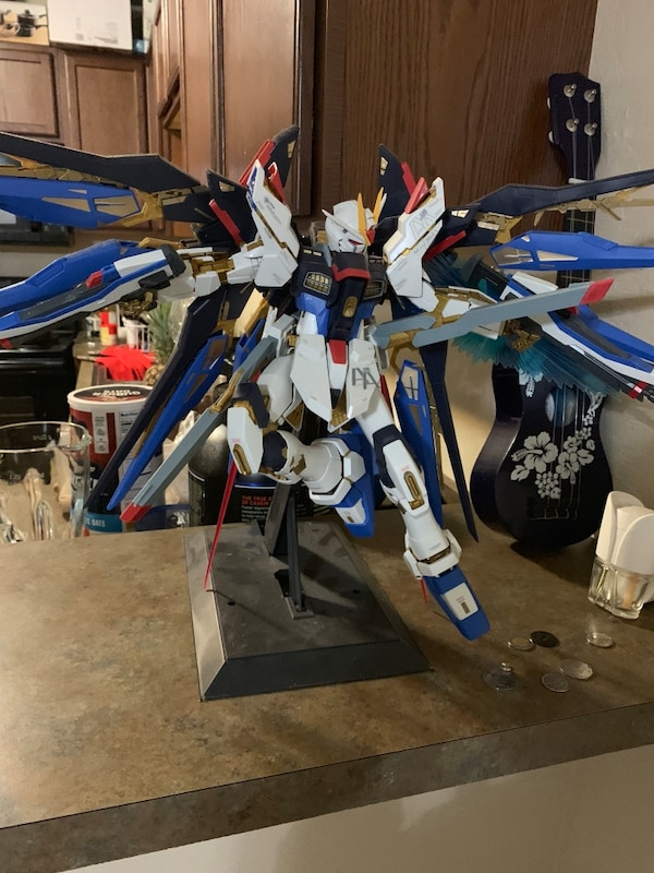 Cool 160 Perfect Grade Strike Freedom Gundam Images