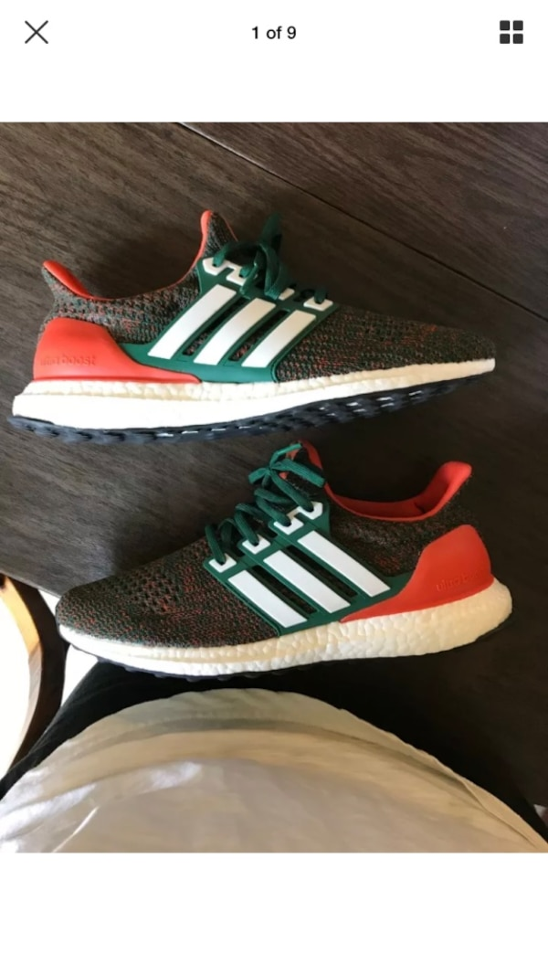 new styles ede9b 9d87a Adidas Ultra Boost 4.0 Miami Size 9.5