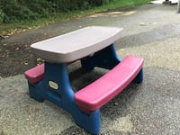 Little Tykes picnic table Hingham, 02043