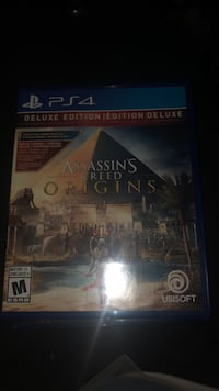Ps4 game Assassins creed origins Surrey, V3T 0B7