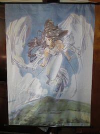 SILK....ANIMAE/MANGA Collectable Cloth Tapestry