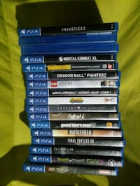 assorted Sony PS4 game cases Omaha, 68107