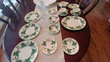 Blue Ridge Pottery Dewberry dishes 16 total $50
