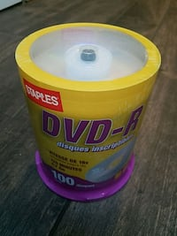 DVD-R brand new sealed 100 pack Springfield