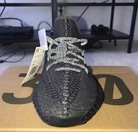 Yeezy 350 Pirate Black