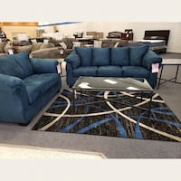 Sofa and love seat $599 $1 down no credit check financing  Roslyn Heights, 11577