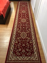Red and creamy Turkish  runner Vancouver, V5Z