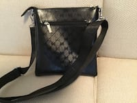 New black GUCCI cross body bag (4 pics)  Ottawa, K1T 0K4