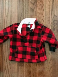 12 month Red Buffalo Check Christmas sweater 25 km