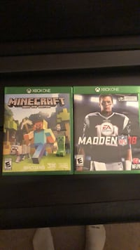 Two Xbox One Games Woodbridge, 22193