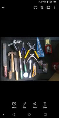 Leather tools and hardware