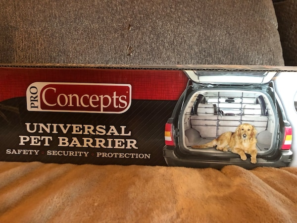 Dog barrier for vehicle - easy to assemble