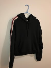 Tna classic black hoodie with arm stripes  Toronto, M4B 2A3