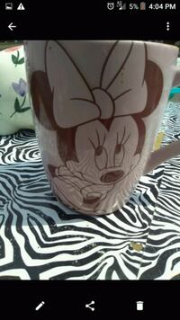 Minnie mouse coffee cup. Youngstown, 44503