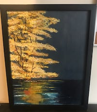 Hand painted - oil painting framed  Los Angeles, 90034