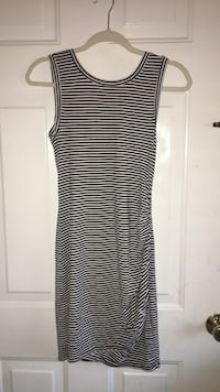 black and white striped sleeveless dress Winter Haven, 33884