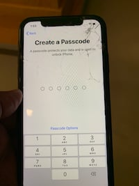 IPhone XR cracked screen good condition only had for a few months at&t carrier 256GB make offer Indianapolis, 46204