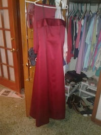 Beautiful red floor length dress