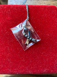 Beautiful new WillLand Ribbon Pendant created with Swarovski crystals. Dollard-des-Ormeaux, H9A 2J9