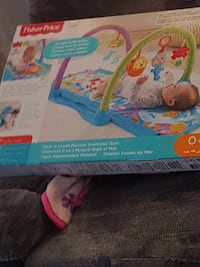 baby's Fisher-Price activity gym box Montréal, H8T 1N9