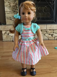 American girl doll Maryellen she was the girl of the year she also has her ears pierced scroll down she comes with lots of clothes Victoria, V9C 2R5