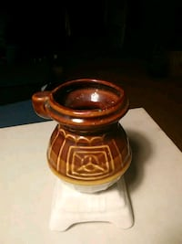 Antique potbelly stove coffee cup Hayesville, 28904