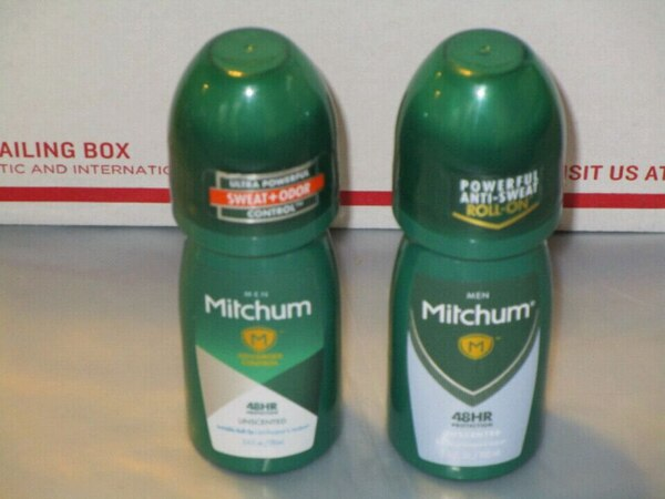 Mitchum Roll-On Antiperspirant & Deodorant-$2 Each