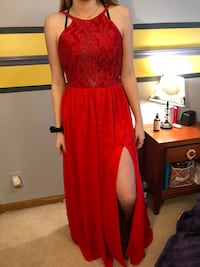 Red prom dress Lino Lakes, 55014